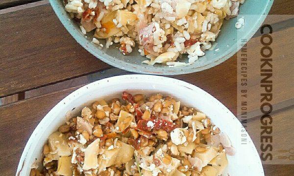 Farro o riso per l'insalata di Domenica!