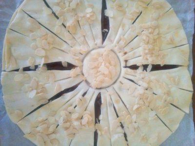 Sole di sfoglia alla crema gianduia