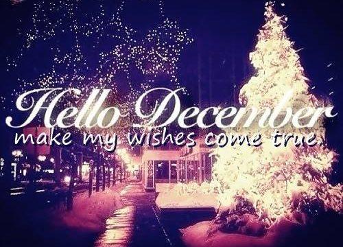E' arrivato Dicembre!