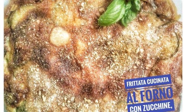 Frittata al Forno con Zucchine, Cipolla di Tropea e Crescenza