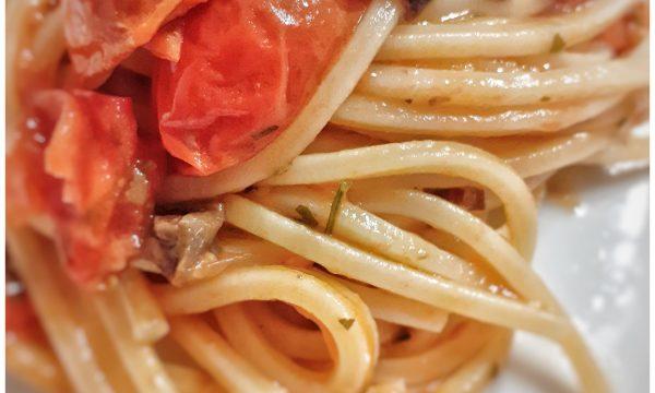 Spaghetto quadrato alla Eoliana