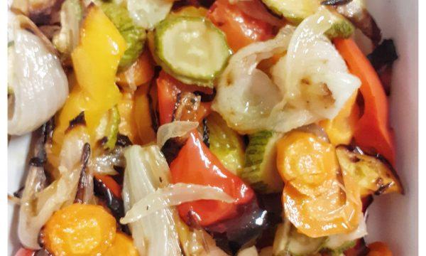 Verdure grigliate in forno- come si preparano