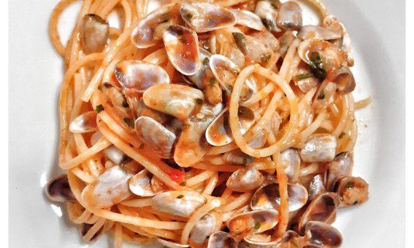 Spaghetti ai calcinelli in rosso -Toscana