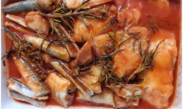 Aguglie fresche, fritte e marinate alla Massese