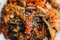 Yakisoba verdure e pollo