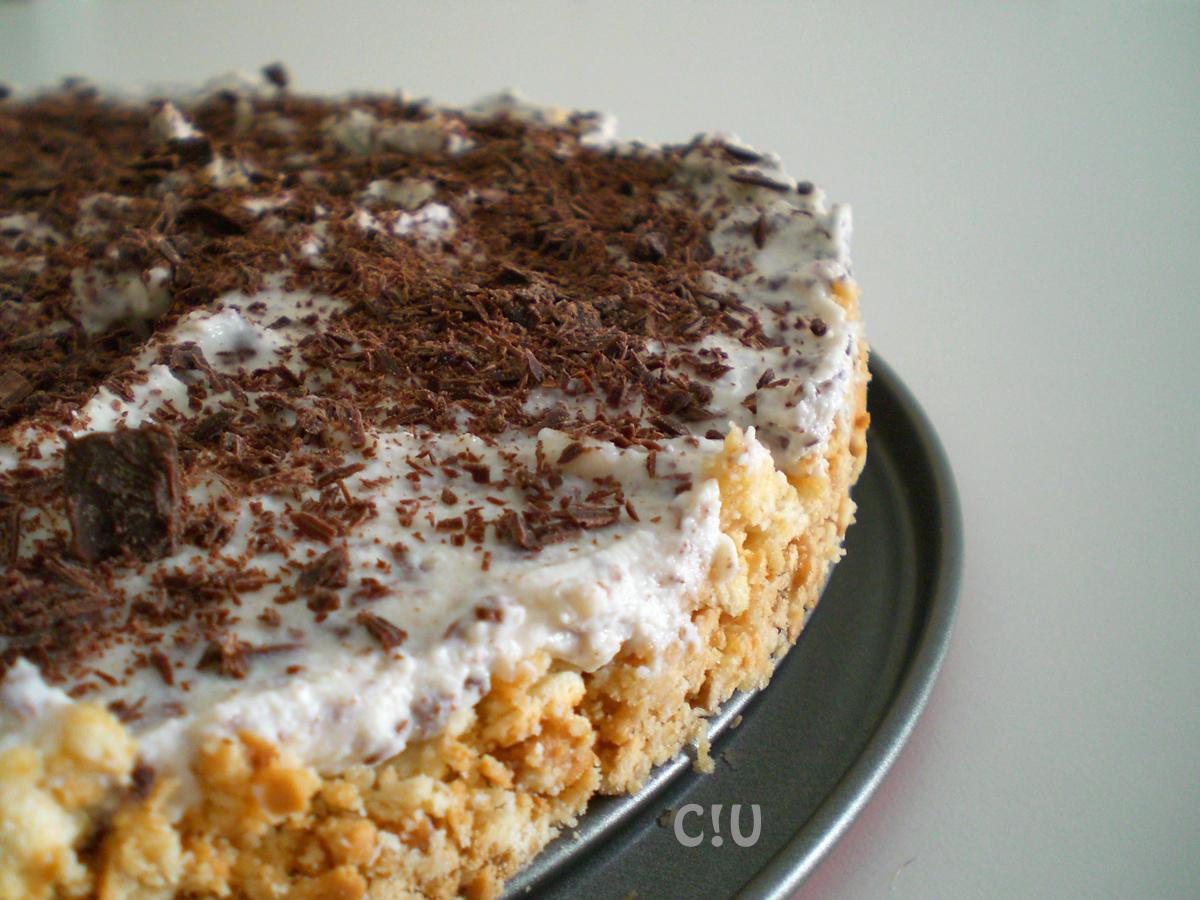 Torta fredda ricotta e cioccolato