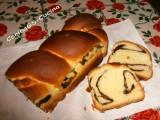Cozonac con cacao e noci-Ricetta rumena