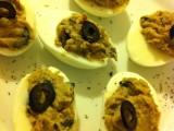 uova ripiene con crema di lenticchie-ricetta economica