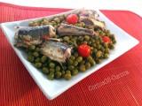 Aguglie in padella con pomodorini e piselli-CorinaGS-Cucina