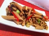 Pasta integrale fredda con verdure grigliate-CorinaGS-Cucina