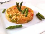 Risotto asparagi e pomodorini-Ricetta base riso-CorinaGS-Cucina