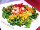 Insalata mediterranea con mazzancolle al vapore-CorinaGS-Cucina