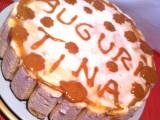 Torta fredda con budino alla vaniglia e ananas-CorinaGS