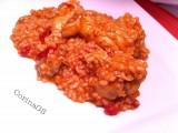 Riso tipo pilaf con pomodoro fiammante-CorinaGS