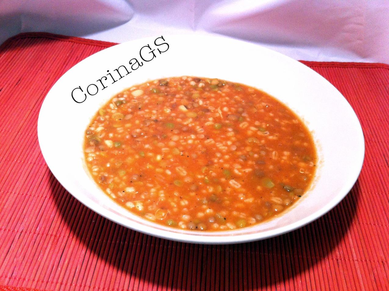 Zuppa legumi e orzo-CorinaGS
