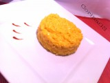 Risotto formaggio e zafferano-Ricetta primo piatto-CorinaGS