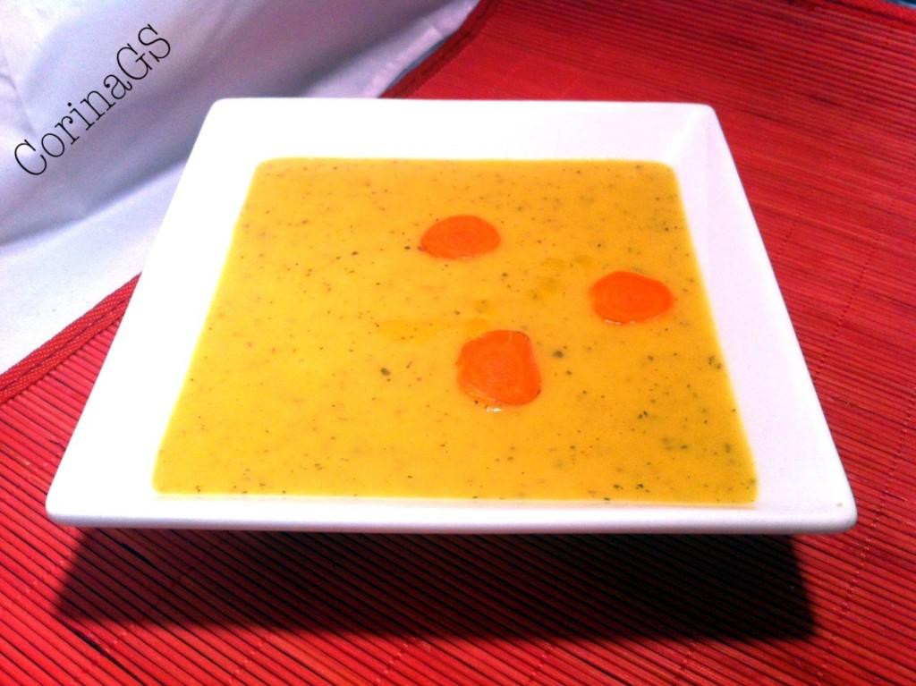 Vellutata gustosa di verdure-CorinaGS