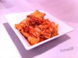 Verza cappuccio e faraona-Ricetta secondo piatto-CorinaGS
