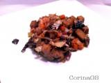 Seitan radicchio e verdure-Ricetta vegan-CorinaGS