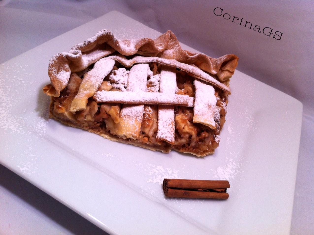 Torta di mele-Ricetta dolce-CorinaGS