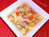 Zuppa di pollo e verdure-Ricetta facile-CorinaGS