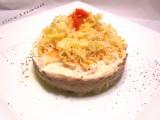 Tortino di crauti e crema di legumi-CorinaGS