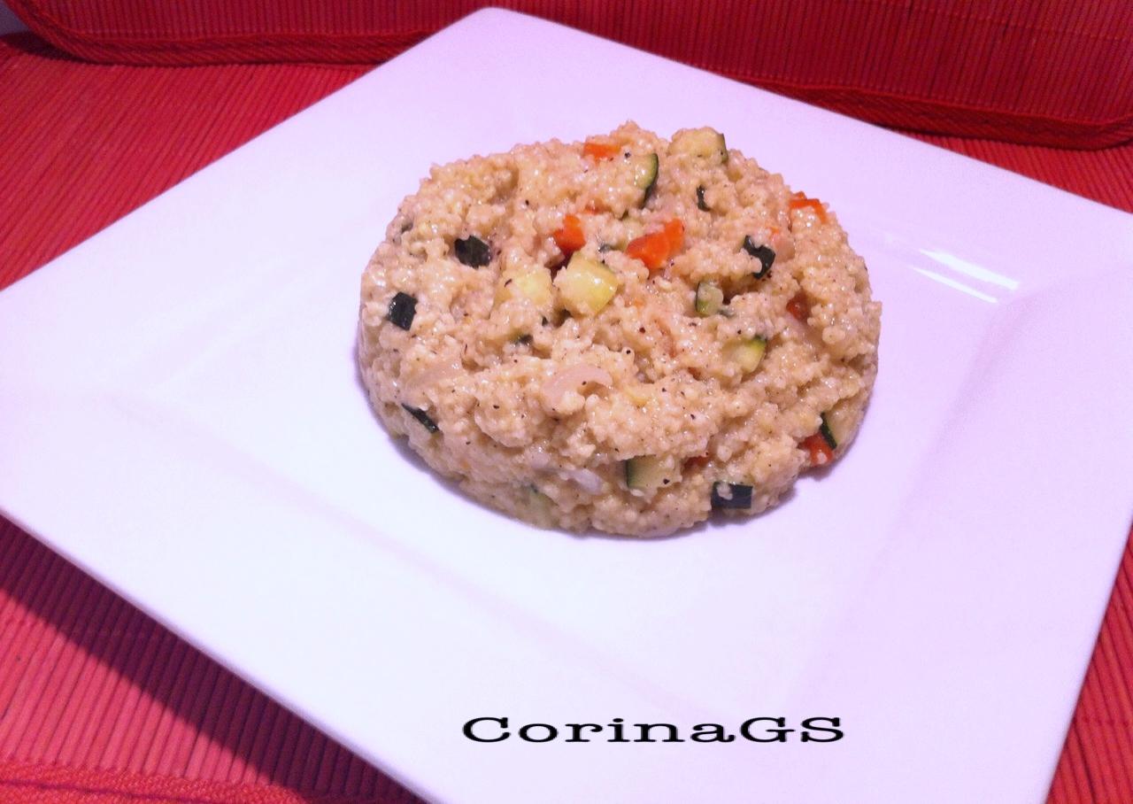 Miglio con verdure|Ricetta base primo piatto|CorinaGS