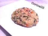 Riso con catalogna e pancetta|Ricetta primo piatto|CorinaGS