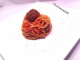 Spaghetti con polpette|Ricetta base primo piatto|CorinaGS