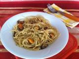 Spaghetti di kamut con le cozze|Ricetta base primo piatto|CorinaGS