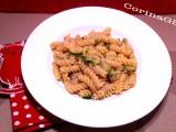 Fusilli zucchine e tonno|Ricetta base primo piatto|CorinaGS