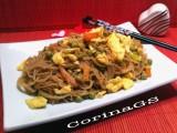 Spaghetti di soia con verdure|Ricetta San Valentino|CorinaGS