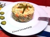 Tortino insalata russa|Ricetta antipasto|CorinaGS