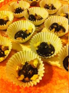 foto passo uno praline al cioccolato