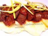 Fegatini di pollo al vino con pure di patate|CorinaGS