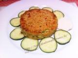 Hamburger vegetariani con zucchine e formaggio|CorinaGS
