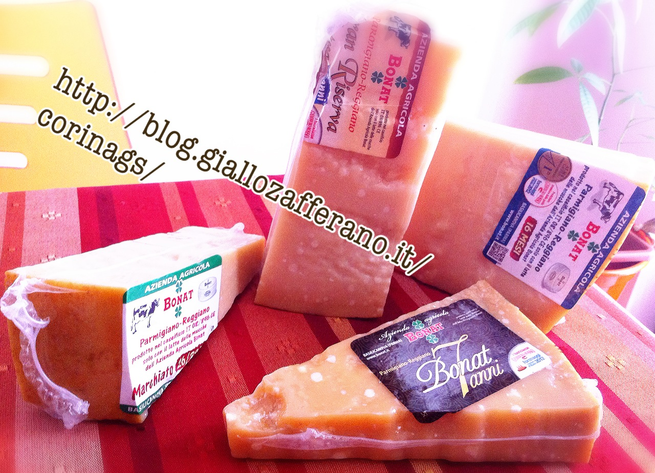 Parmigiano Reggiano Bonat|Amore al primo assaggio|CorinaGS