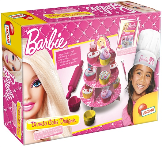 Lisciani Barbie Diventa Cake Designer|CorinaGS