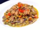 Seitan con piselli e germogli di soia|CorinaGS