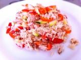 INsalata di riso basmati con verdure e tonno|CorinaGS