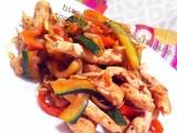 Pollo alla piastra con verdure e salsa di soia|CorinaGS