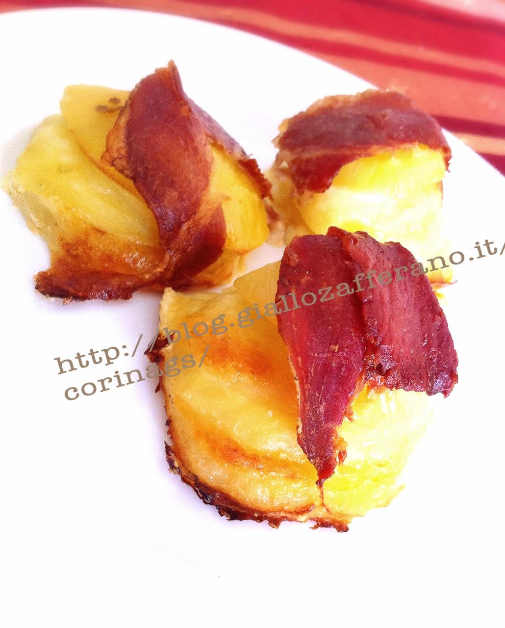 Torrette di patate e prosciutto crudo al forno|CorinaGS