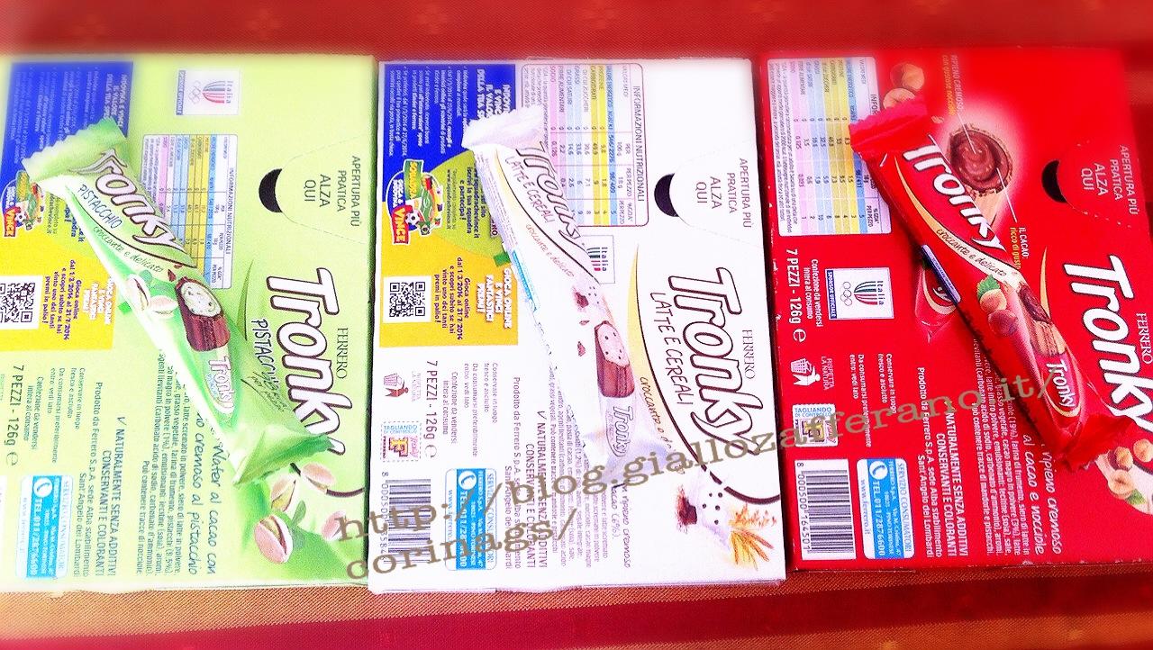 TRonkytricolore Con il nuovo gusto Latte e cereali|CorinaGS