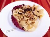 Pappardelle con radicchio, noci e roquefort CorinaGS