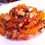 ricetta pasta polpo