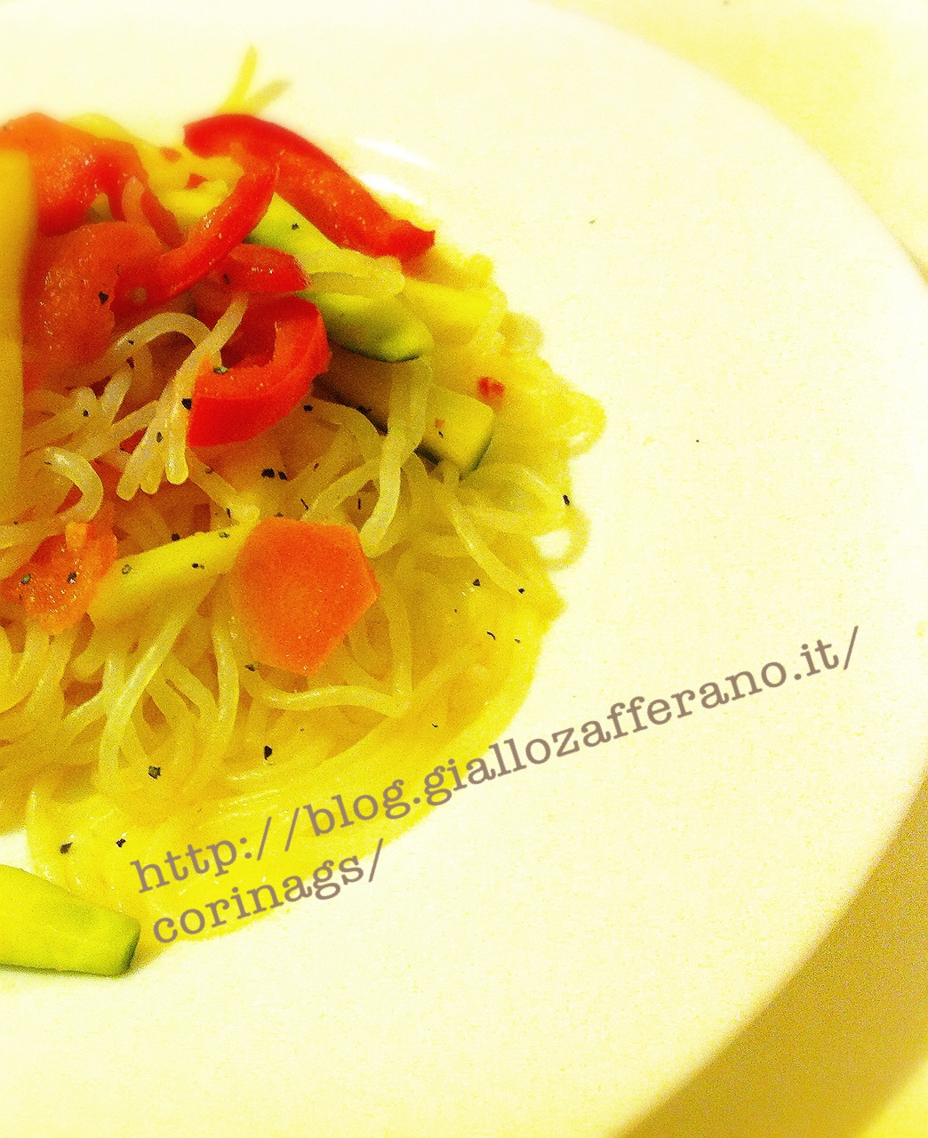 Shirataki alle verdure|Ricetta base shirataki|CorinaGS