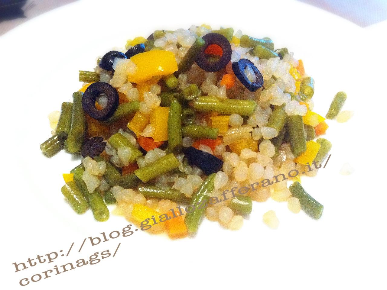 Shirataki riso con verdure Ricetta base shirataki CorinaGS