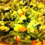 shirataki riso verdure