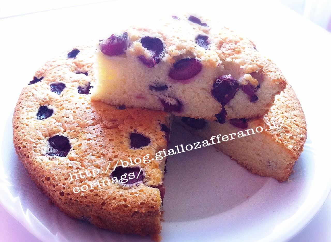 Torta alle amarene Ricetta base torta CorinaGS