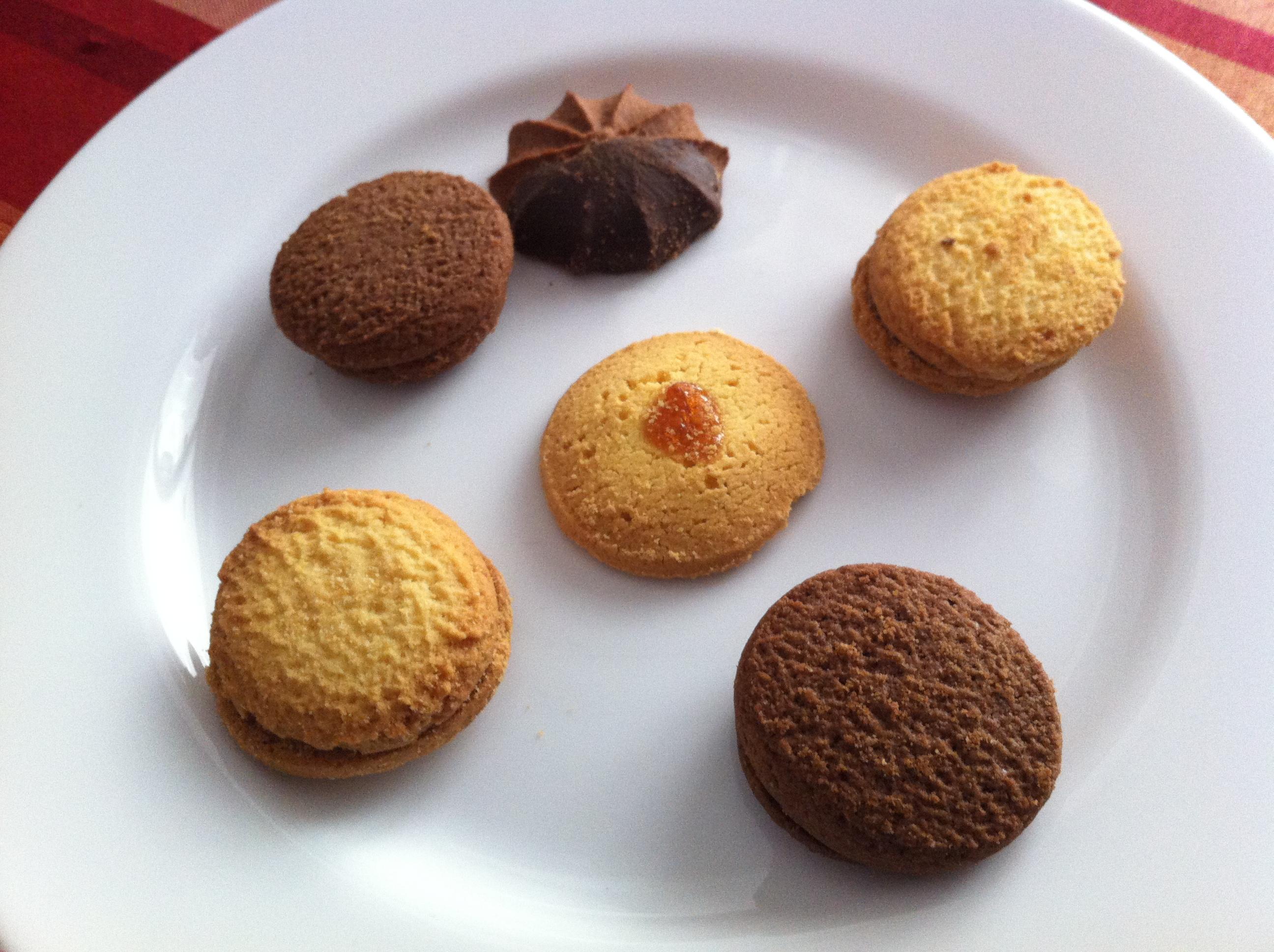 frollini cacao e confettura